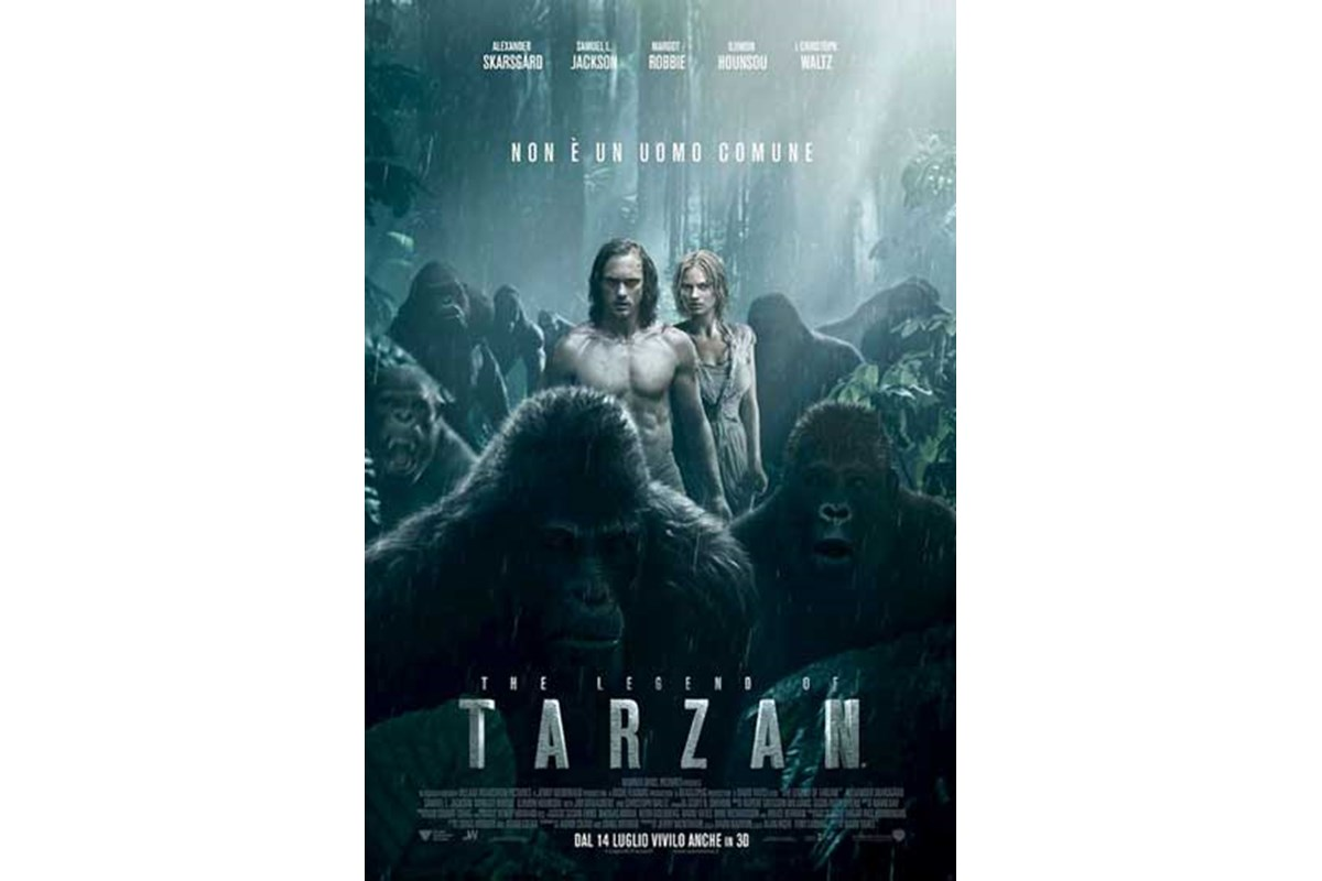 Al cinema arriva The Legend of Tarzan: il Re della giungla è tornato!