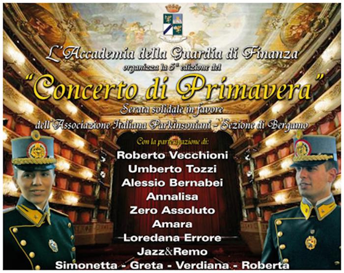 In scena a Bergamo il CONCERTO DI PRIMAVERA con ROBERTO VECCHIONI, ANNALISA, LOREDANA ERRORE e tanti...