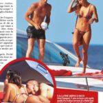 Belen Rodriguez, nuove tenerezze ad Ibiza insieme al pilota di MotoGP Andrea Iannone