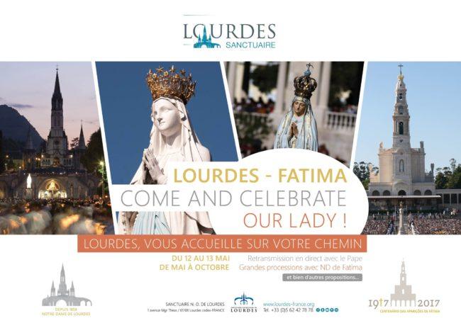 #Lourdes também vai rezar com #Fátima