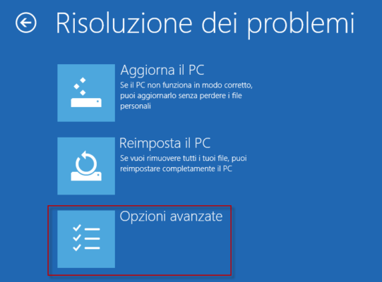 La Modalità Provvisoria di Windows 10