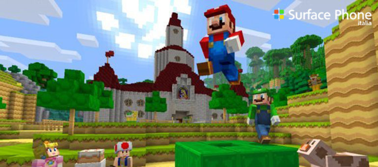 Minecraft: arriva Super Mario Mash up Pack sulla Wii U | Surface Phone Italia