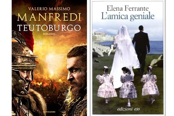 Libri, la classifica per la narrativa dei più venduti al 1 di ottobre