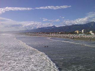 La spiaggia a Forte dei Marmi, non solo VIP