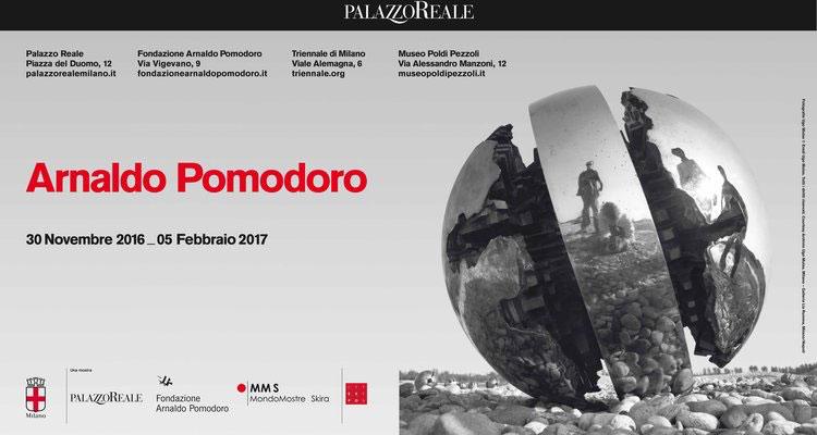 Mostre (quasi) in chiusura a Milano: Arnaldo Pomodoro a Palazzo Reale