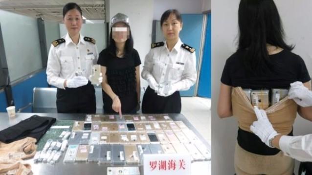Hong Kong: fermata donna con, addosso, 102 iPhone di contrabbando
