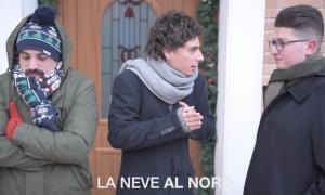 Casa Surace virale: Freddo e neve Nord Vs Sud [VIDEO]