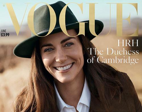 Kate Middleton, prima cover su Vogue UK