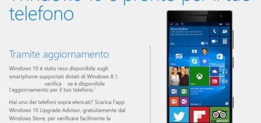 Come aggiornare Lumia Lumia 930, Lumia 735, Lumia 1320, Lumia 730, Lumia 735, Lumia 830, Nokia XL 4G, Lumia 530, Nokia X2, Lumia 638...
