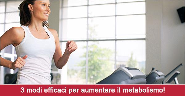 Accelerare il metabolismo? Ecco 3 modi infallibili per bruciare più calorie!