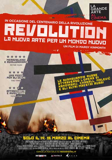 Le avanguardie russe per due giorni al cinema con REVOLUTION