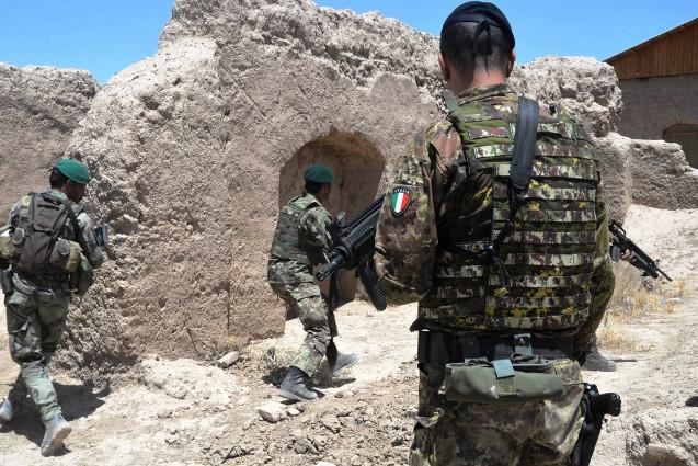 Afghanistan, avvicendamento dei Comandanti per gli istruttori italiani