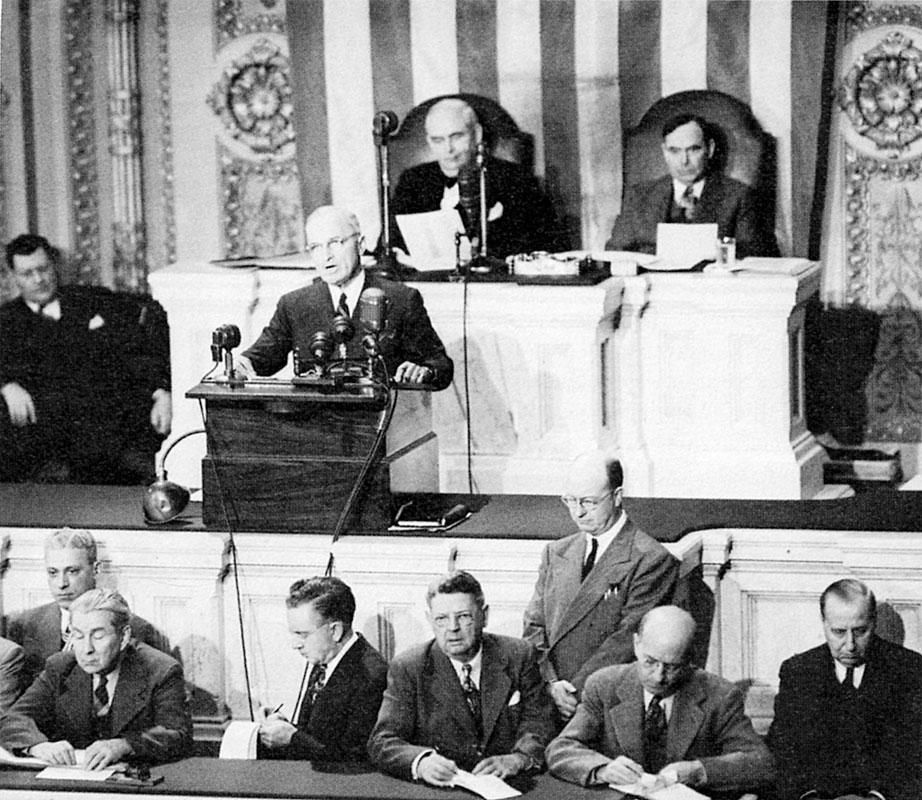 12 marzo 1947: Ha inizio la dottrina Truman