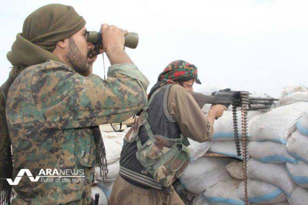 Siria: Truppe delle Forze Democratiche Siriane (SDF) appoggiate dall'occidente impongono assedio all