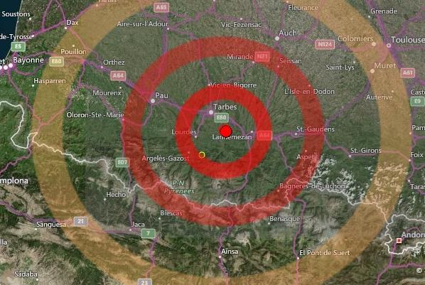 Moderata scossa di terremoto a #Lourdes