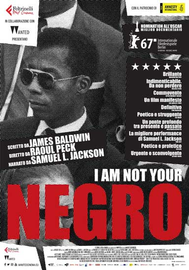 Da oggi al cinema il documentario I AM NOT YOUR NEGRO di Raoul Peck