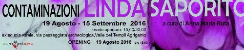 """Ad Agrigento la mostra """"Contaminazioni"""" di Linda Saporito"""
