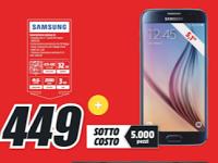 Sottocosto Mediaworld: ultimi giorni Galaxy S6 a 449€