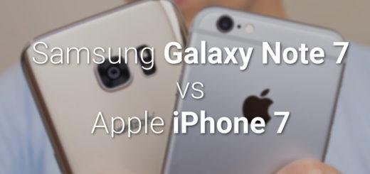 Apple iPhone 7 Plus vs Samsung Galaxy Note7 – Quali sono le differenze?