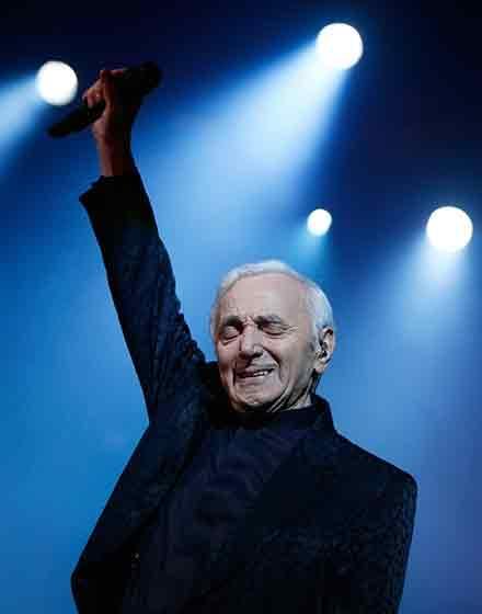 Auditorium Parco della Musica di Roma accoglie Charles Aznavour