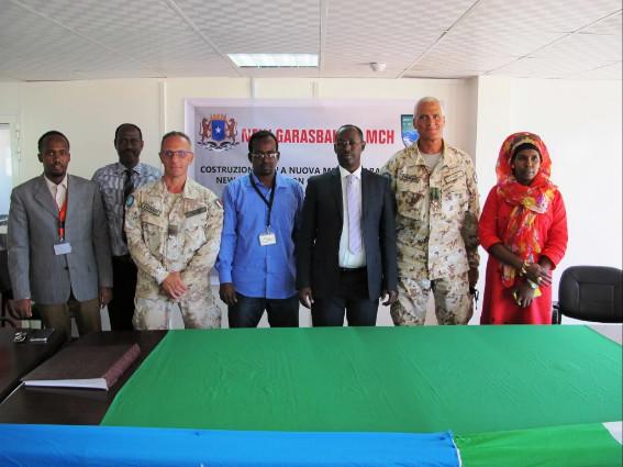 Mogadiscio:militari italiani costruiscono ospedale che fornirà assistenza medica anche a sfollati
