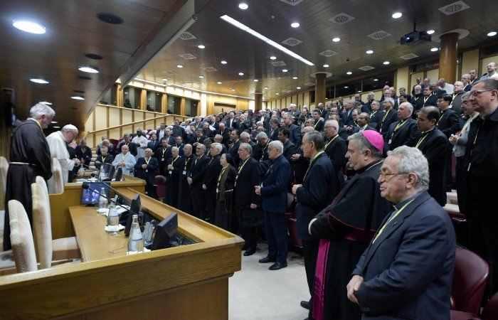 La Chiesa secondo Bergoglio nel colloquio con l'Unione dei Superiori Generali