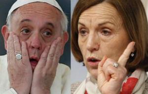 """Pensioni d'oro. Sganassone della Fornero (fermatela!): """"il Papa dovrebbe essere già in pensione da..."""