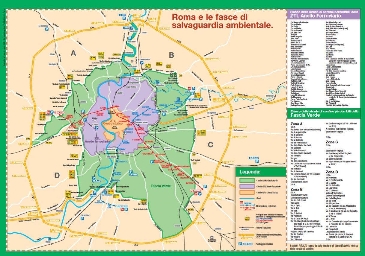 Fascia Verde off limits per 140mila auto da martedì 1 novembre