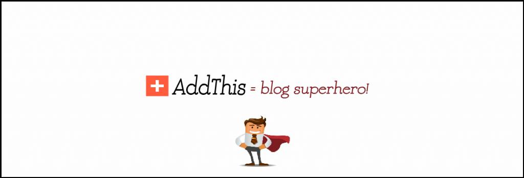 AddThis: promuovi il tuo blog sito web!