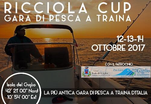 Ricciola Cup all'isola del giglio - gara di pesca alla traina