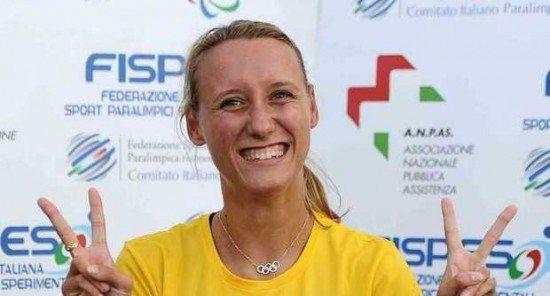 Oxana Corso firma il nuovo primato italiano sui 200 al Grand Prix paralimpico di Grosseto