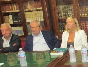 Aidone. Prof. Augusto Barbera, giudice Corte Costituzionale, ha incontrato i suoi concittadini