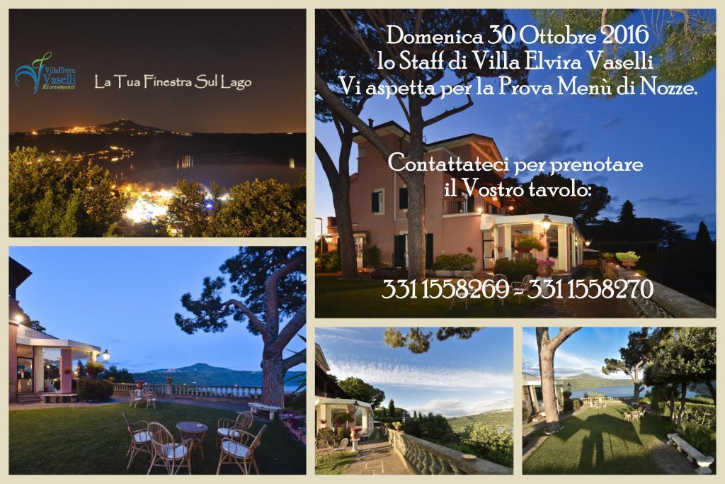 Prova Menù di Nozze del 30 Ottobre 2016 - Villa Elvira Vaselli