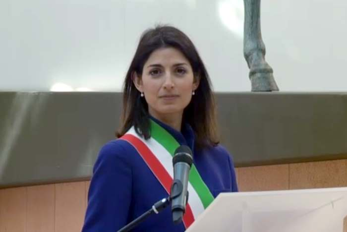 Censura RAI a Virginia Raggi durante la cerimonia per la firma dei Trattati di Roma?