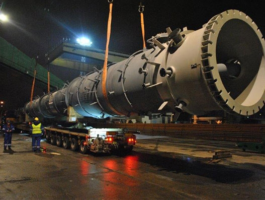GEODIS transported out-of-gauge refinery modules for Kinetics Technology | Supply Chain