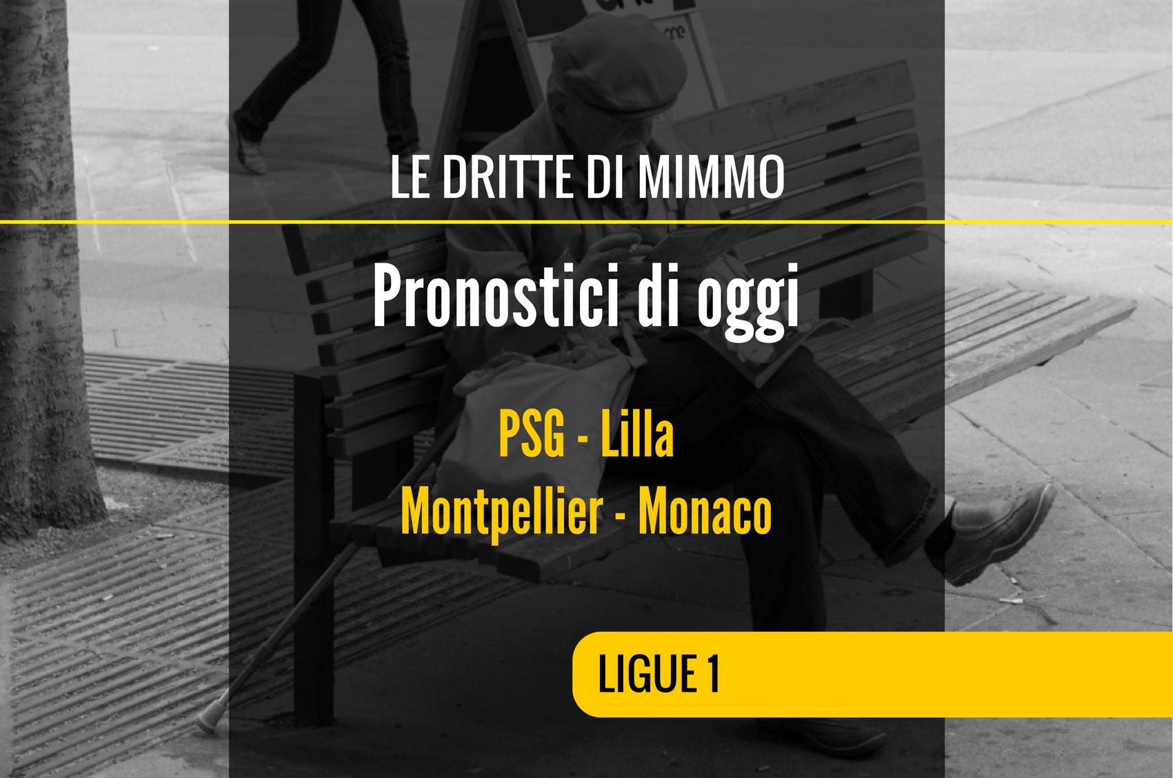 I Pronostici di Mimmo di Oggi: Ligue 1