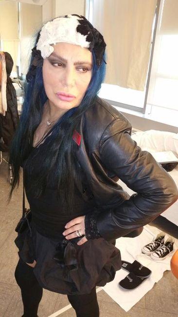 La meglio vestita della settimana di Velvet: Loredana Bertè