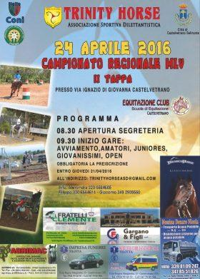 A Castelvetrano, tappa regionale del campionato MLV