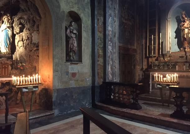 Il cammino delle reliquie parte da Cuveglio