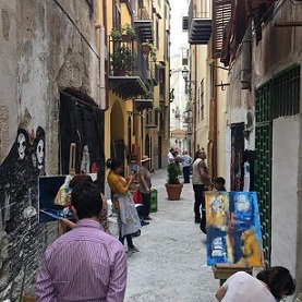 """Palermo. Animazione con i bambini e mostra fotografica a Ballarò per 3 associazioni della """"Festa..."""