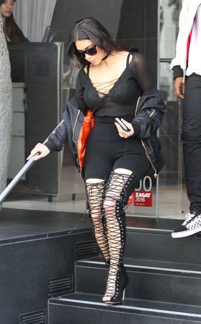 Kim Kardashian: outfit audace per uno stile sempre al top