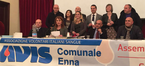 AVIS Enna: rinnovate cariche associative quadriennio 2017-2020
