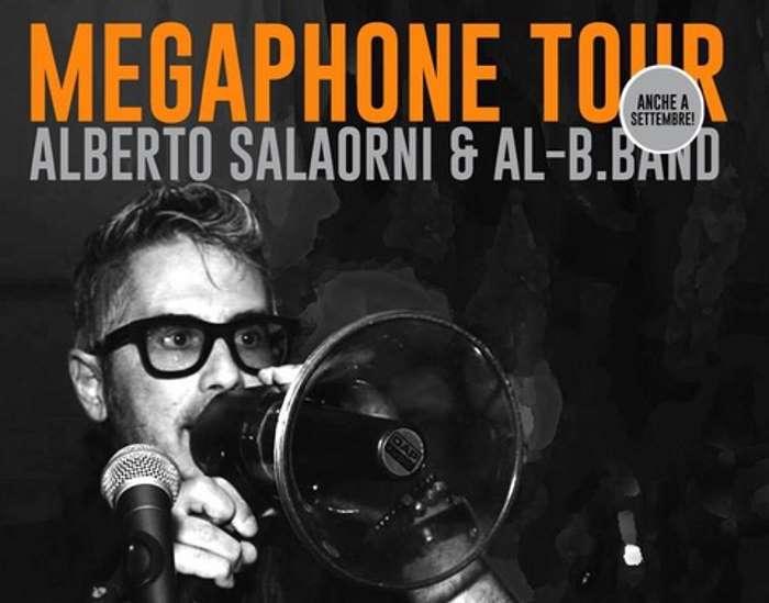 Alberto Salaorni & Al-B.Band: il Megaphone Tour continua
