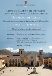 Norcia, conferenza di commemorazione primo abate celestino