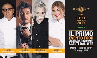 Come Partecipare all'Evento Chef Awards 2017: