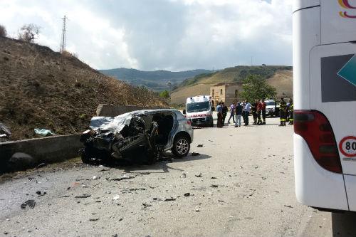 Valguarnera: Scontro frontale sulla SS 117bis, deceduto 32enne di Piazza Armerina