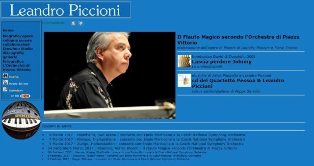 Il Maestro Leandro Piccioni, la Musica da Film e il Tour con il Premio Oscar Ennio Morricone