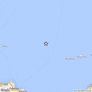 Sicilia, terremoto Ml 3.0 il 02-05-2016 ore 22:40 Tirreno Meridionale