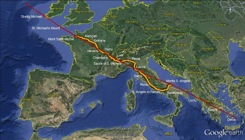 Torino e la misteriosa linea di San Michele