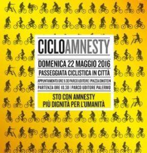 Palermo: Passeggiata in bici con Amnesty International